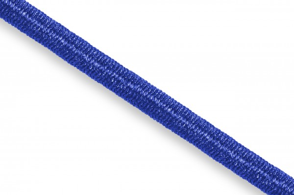 Gummikordel, Econyl® recycelt, 4 mm, royalblau 553