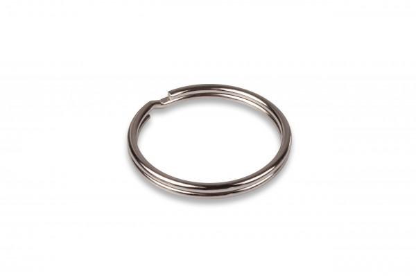 Schlüsselring, Eisen vernickelt, 26 mm