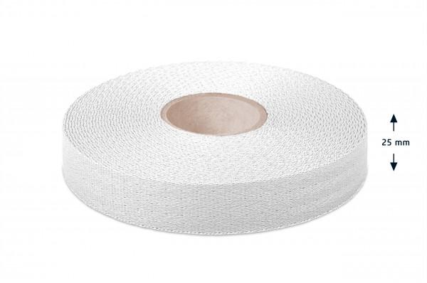 Econyl® Gurtband, recycelt, weiss 110