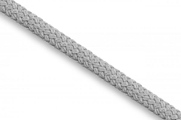 Rundkordel, Econyl® recycelt, 4 mm, silbergrau 316