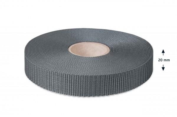 Allzweck Gurtband, Grau 29