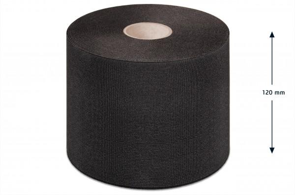 Breitelastikband schwarz 120 mm