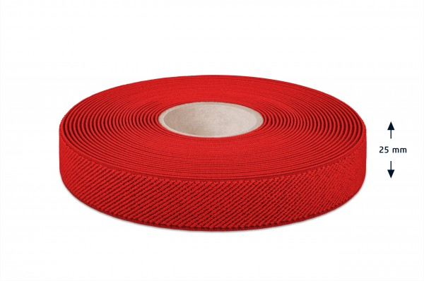 Elastikband rot 25 mm