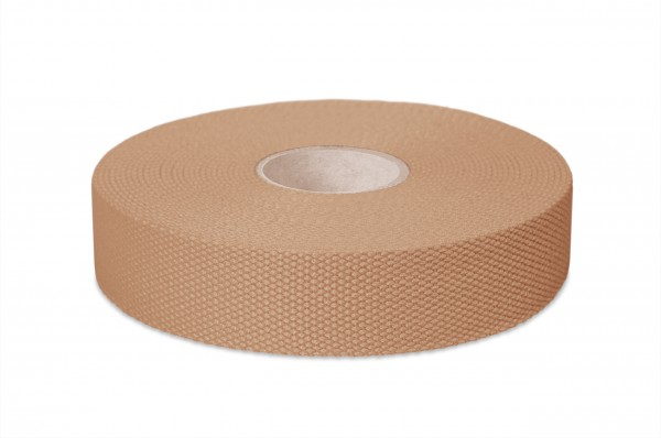 Dickes Baumwollgurtband, Breite 30 mm, beige