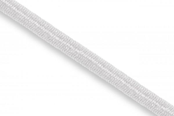 Gummikordel, Econyl® recycelt, 4 mm, weiss