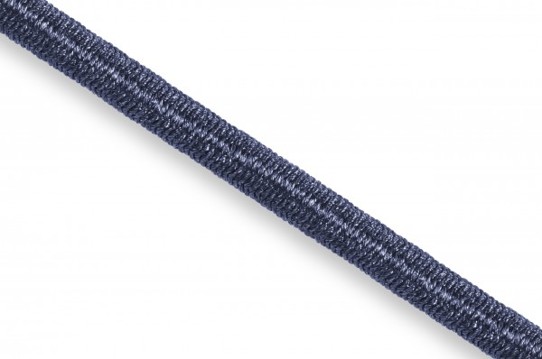 Gummikordel, Econyl® recycelt, 4 mm, marine 523