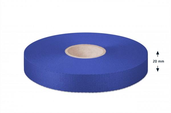 Leichtes Ripsband, kornblau 20mm
