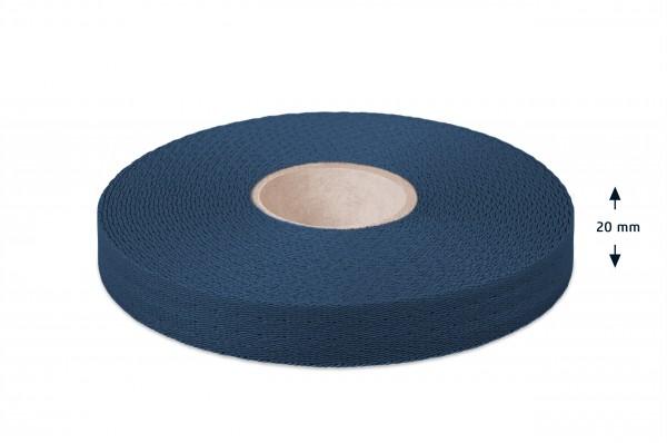 Econyl® Gurtband, recycelt, marine 523