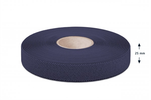 Elastikband marine 25 mm