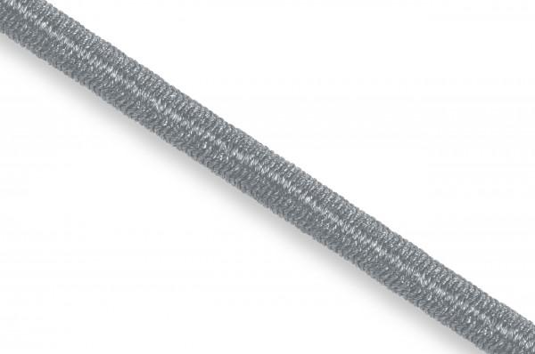 Gummikordel, Econyl® recycelt, 4 mm, silbergrau 316