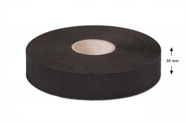 Qualitäts-Elastikband schwarz 30 mm