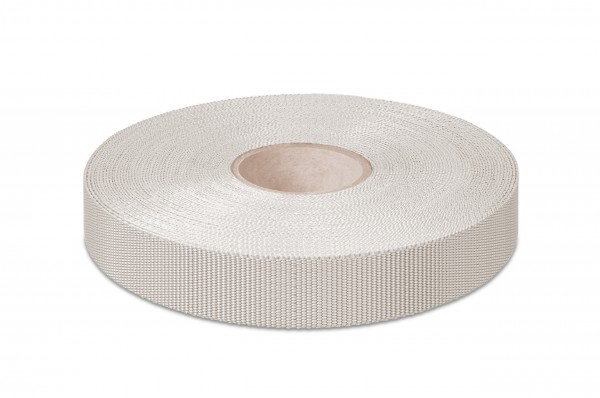 Einfaßband Polypropylen, silbergrau, 18 mm