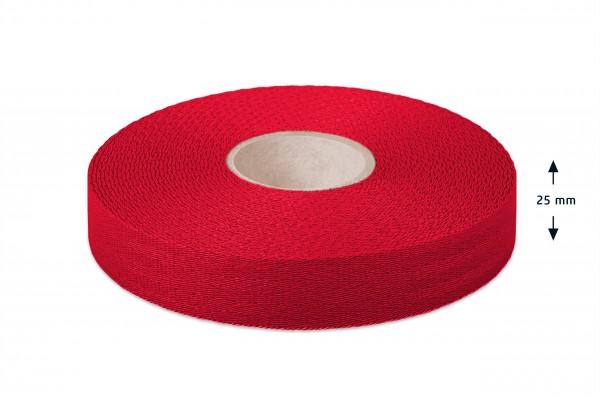 Econyl® Gurtband, recycelt, rot 421