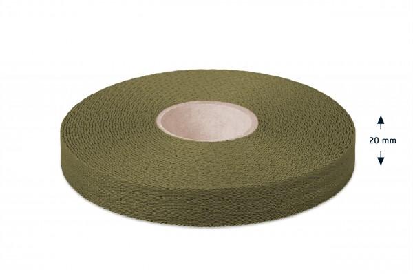 Econyl® Gurtband, recycelt, olive 632