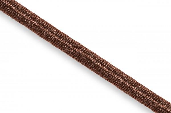 Gummikordel, Econyl® recycelt, 4 mm, braun 237