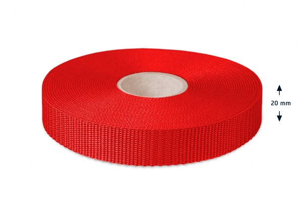 Allzweck Gurtband, Rot 4