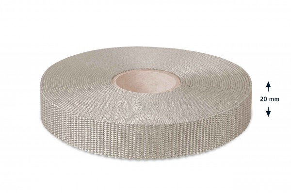 Allzweck Gurtband, Grau 206